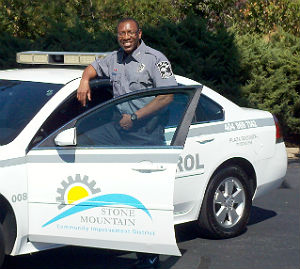 Stone Mountain CID Security Patrol car